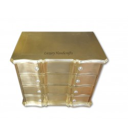 Brass Chest of Drawers