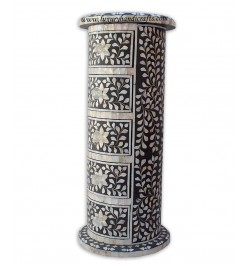 bu online mother of pearl accent table