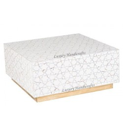 mother of pearl coffee table rectangle