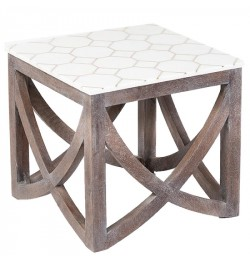 Online German Silver Metal end tables and Side Tables furniture