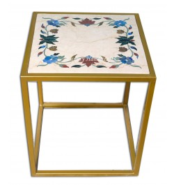 Stone Sculptures Side Table