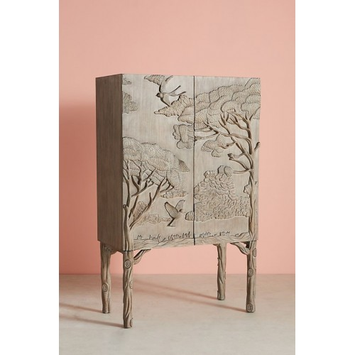 Luxury Land and Sky Bar Cabinet