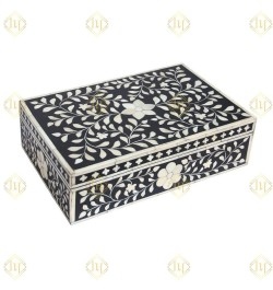 buy bone inlay jewellery box