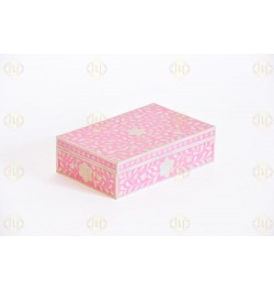 bone inlay tissue box Online  In USA