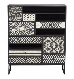 Bone Inlay Bar Cabinets | Luxury Handicrafts