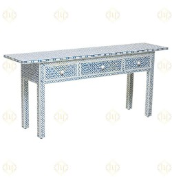 bone inlay entry table