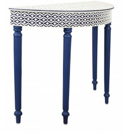 console table bone inlay