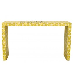 buy bone inlay console table