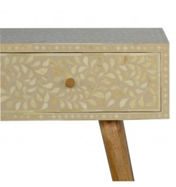 buy bone inlay entry table