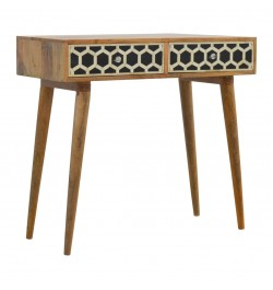 buy bone inlay hall table