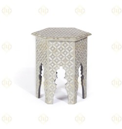 shop Inlay Side End Table Online