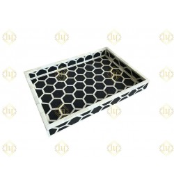 round bone inlay tray online Furniture
