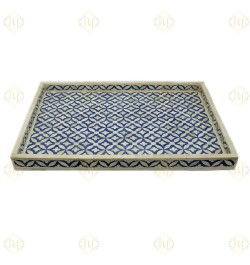 round bone inlay tray