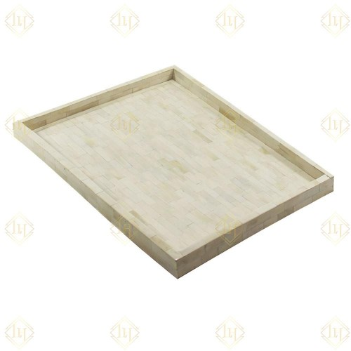 Full Bone Inlay Rectangle Tray