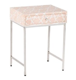 mother of pearl bedside and Cabinet table