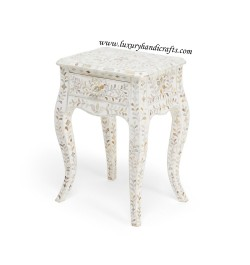 buy online mother of pearl inlay nightstand in USA