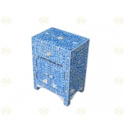 mother of pearl inlay nightstand in USA