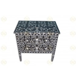 mother of pearl chest of drawers