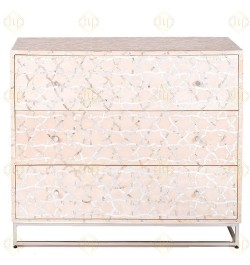 shop online mother of pearl inlay chest of drawers in USA