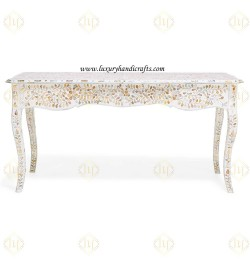buy  online mother of pearl console table in USA