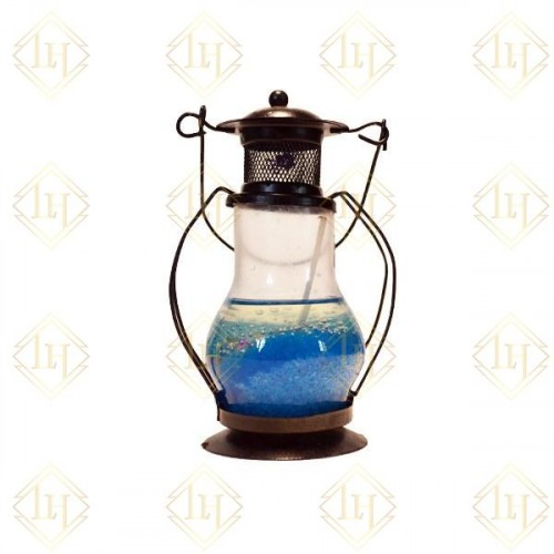Decorative Gel Lantern-Blue