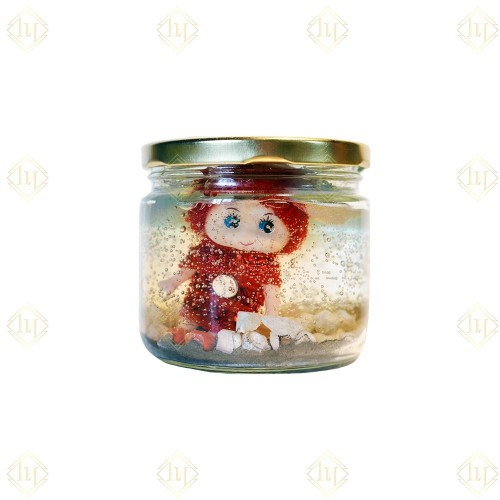 Jar Candle-Doll