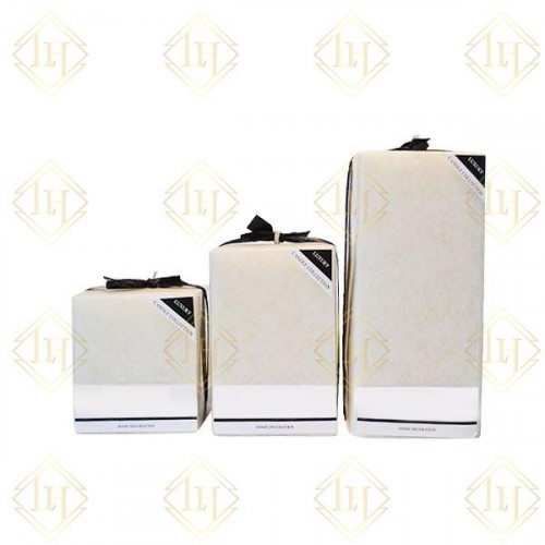 White Bar Candles